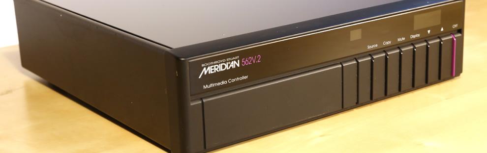 Meridian 20 Bit CD Player 506 – Audio Images